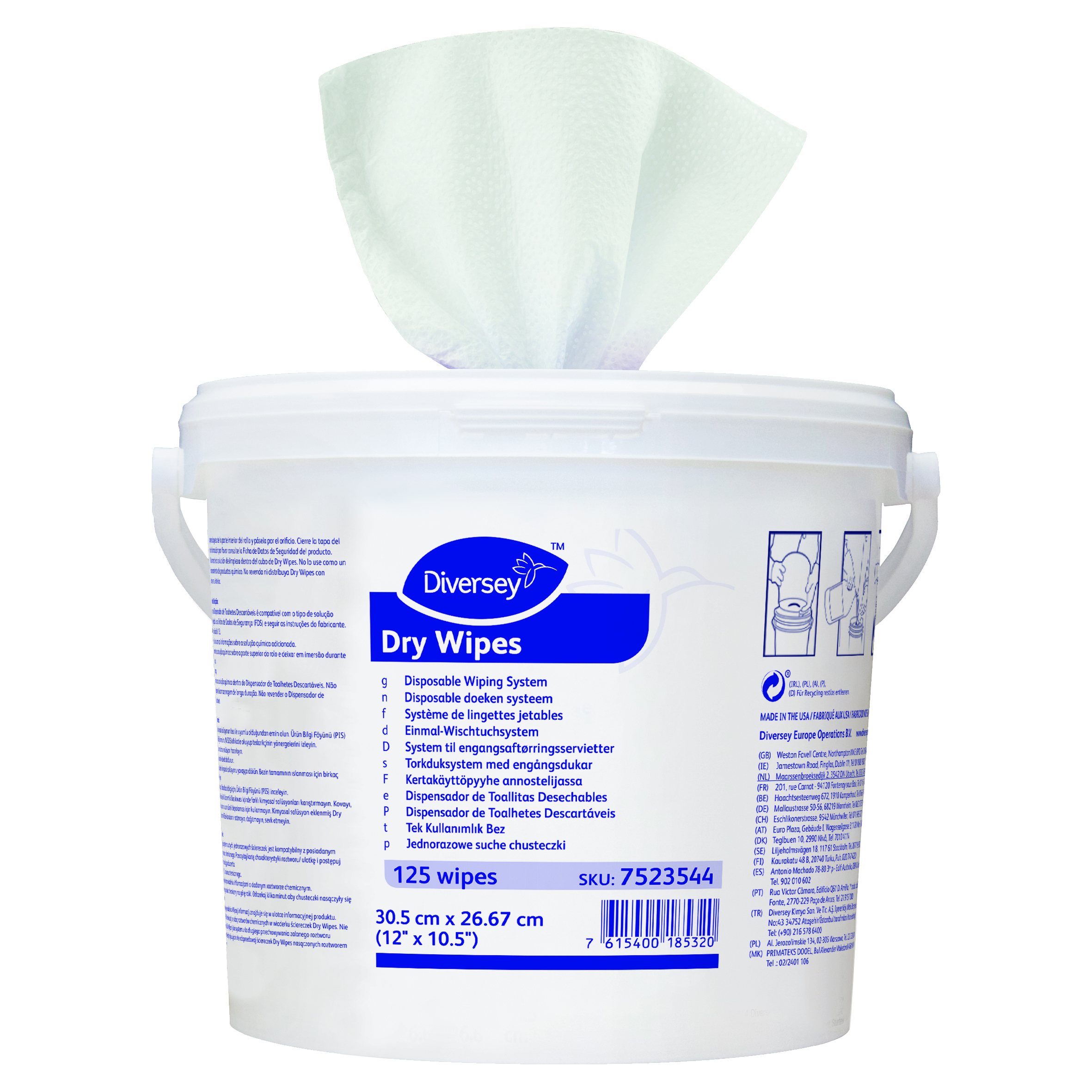 Dry Wipes Disposable Doeken